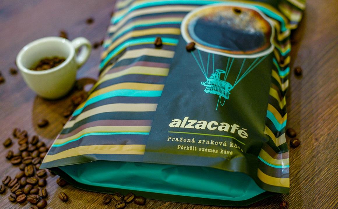 AlzaCafé 1 kg v novom, znovu uzatvárateľnom obale