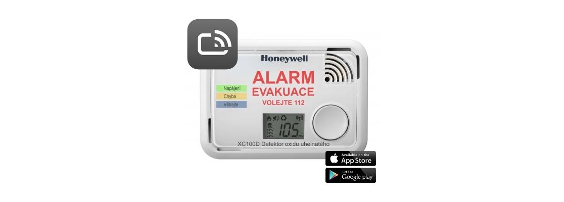 Detektor oxidu uhličitého Honeywell