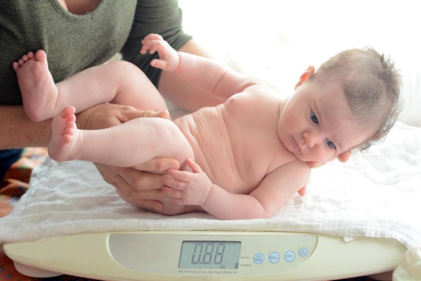Správna váha dojčaťa