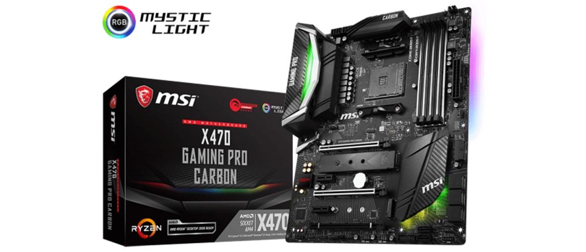 Snímka MSI X470 Carbon, výrobca, MSI