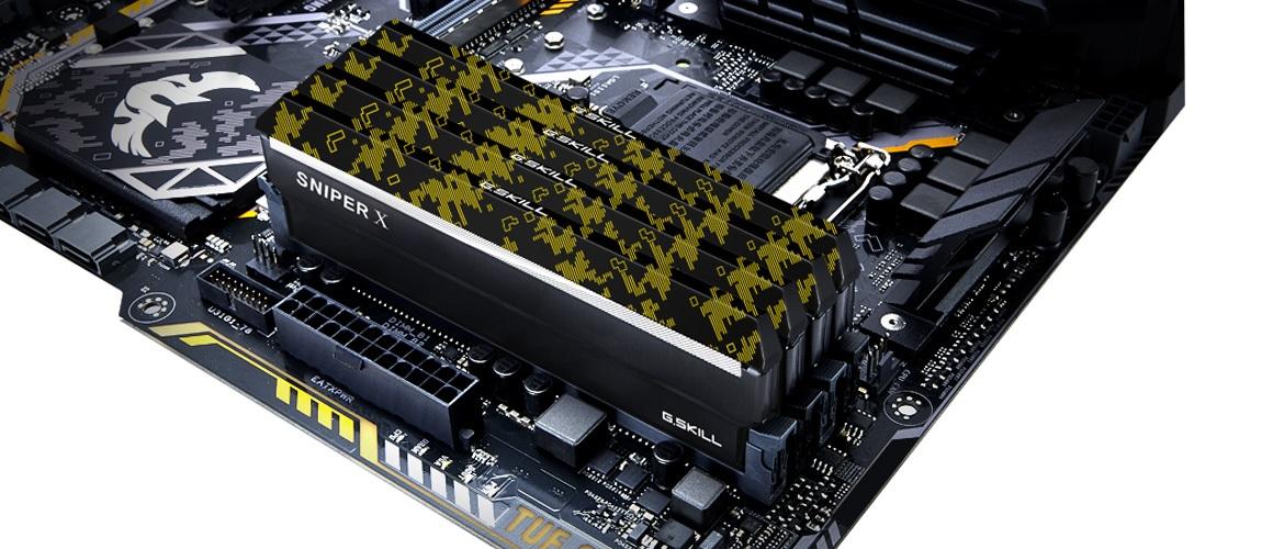 Operačné pamäte Sniper X 3400 MHz CL16 pro AMD Ryzen