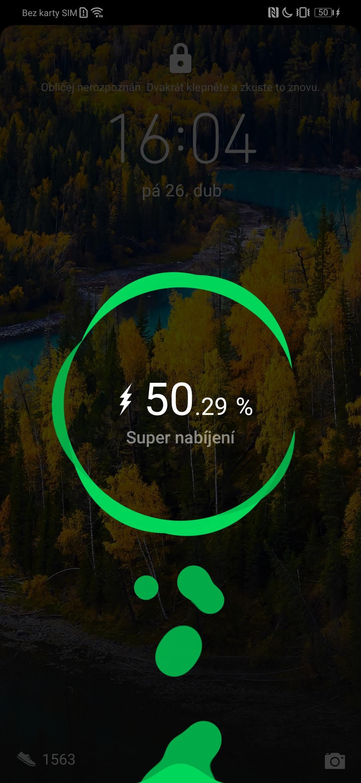 Huawei P30 Pro, recenzia, batéria