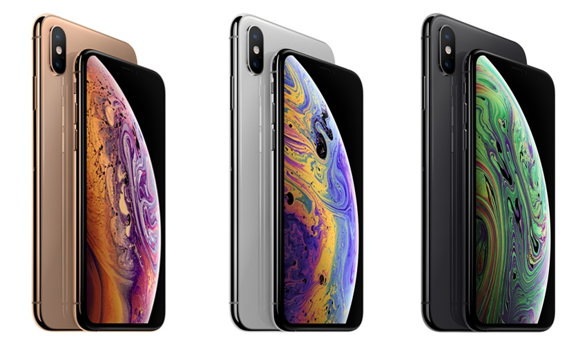 iPhone Xs Max; farby