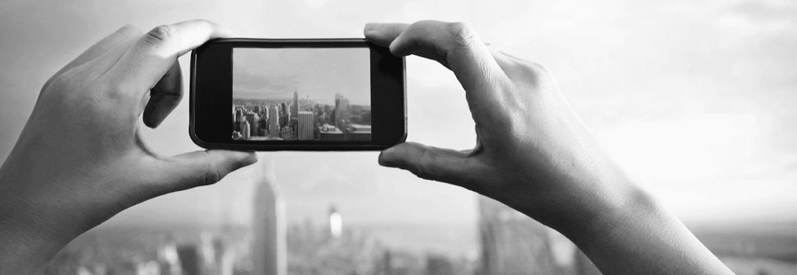 Ako fotiť mobilom, krajina