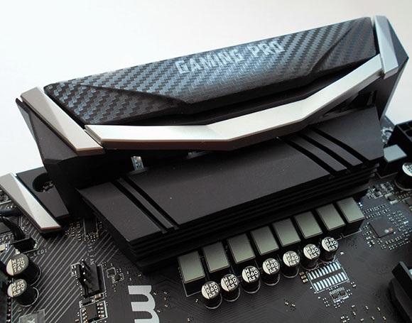 Kryt I/O, MSI X470 Gaming Pro Carbon