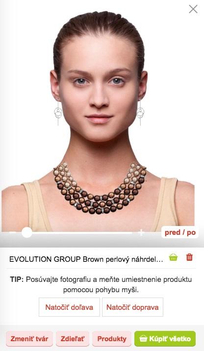 Skúšanie náhrdelníka