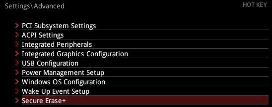 BIOS ďalšie nastavenia, MSI X470 Gaming Pro Carbon