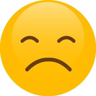 Smajlík – frustrácia