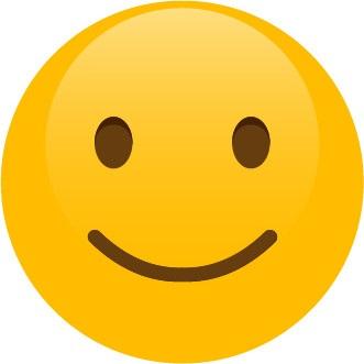 Smajlík – základný úsmev