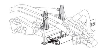 Montáž nosiča pomocou T-adaptéru