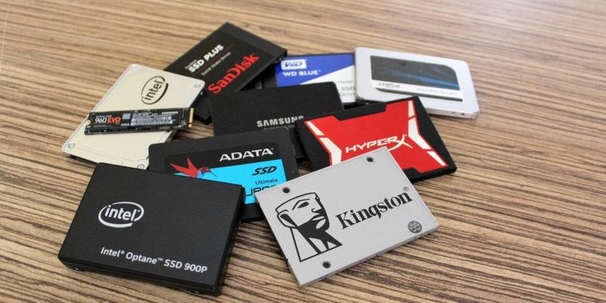 Testované SSD disky