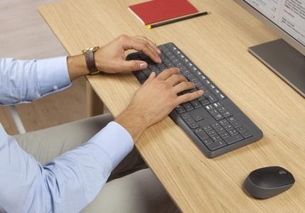 Bezdrôtová klávesnica Logitech