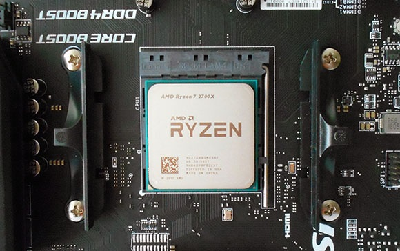 AMD Ryzen 7 2700X, MSI X470 Gaming Pro Carbon