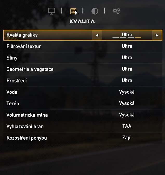 Far Cry 5 nastavenie kvality