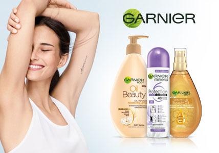 Garnier telová kozmetika
