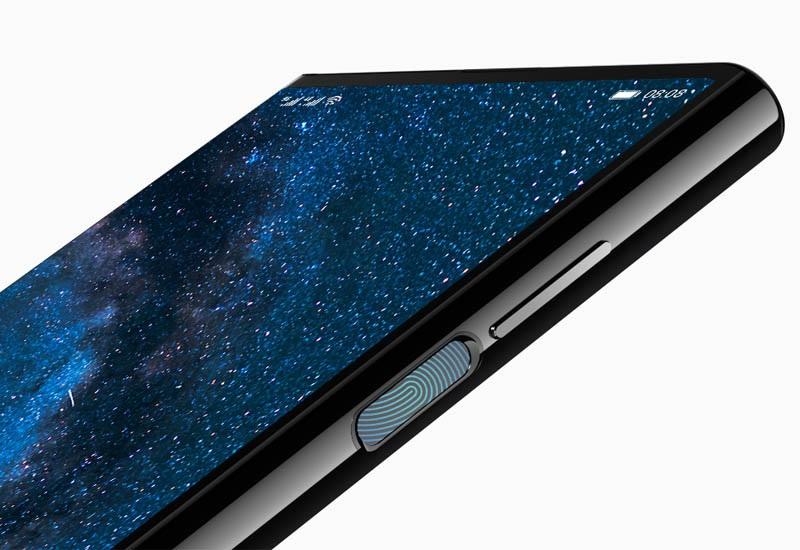 Huawei Mate X, fingerprint