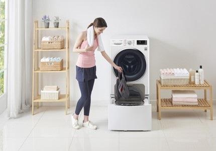LG TwinWash práčka vyperie naraz dve várky bielizne