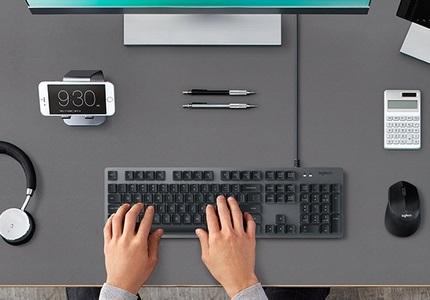 Mechanické klávesnice Logitech