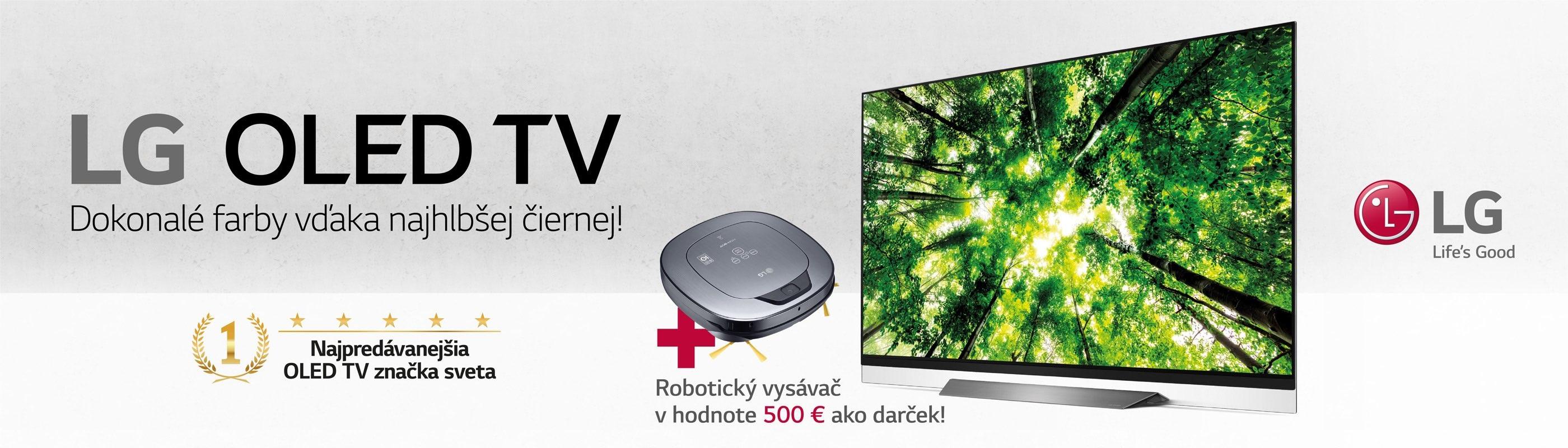092203cd6 Veľká zľava na LG OLED TV a HomBot ako darček | Alza.sk