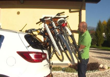 Peruzzo nosiče bicyklov na piate dvere