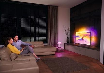 Televízor s technológiou Philips Ambilight