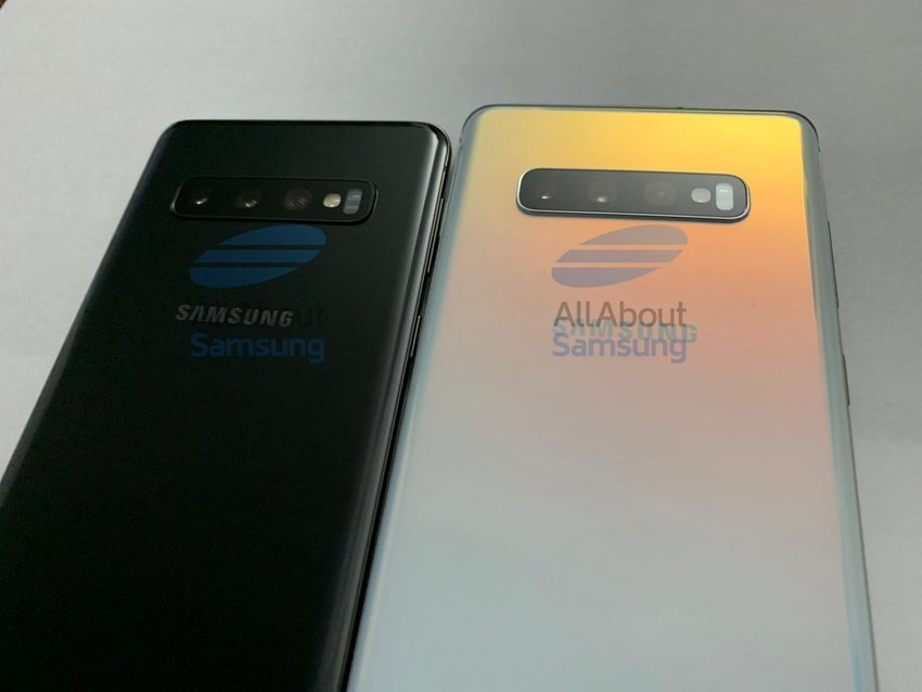 Zadná strana Samsungu Galaxy S10 a S10+