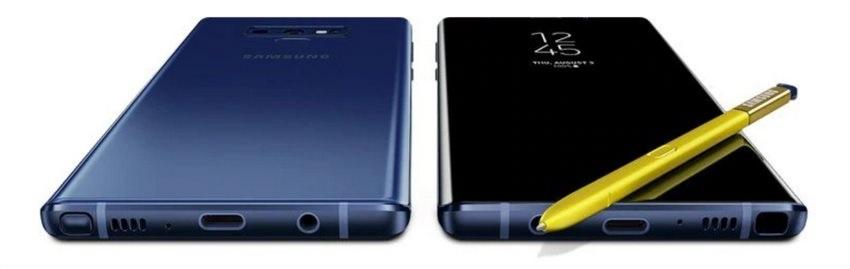 Samsung Galaxy Note9, spodná strana