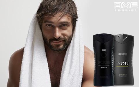 Sprchové gély a mydlá AXE