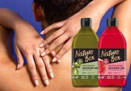 Sprchové gély Nature Box