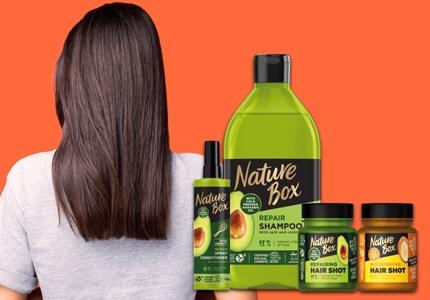 Tekuté šampóny Nature Box
