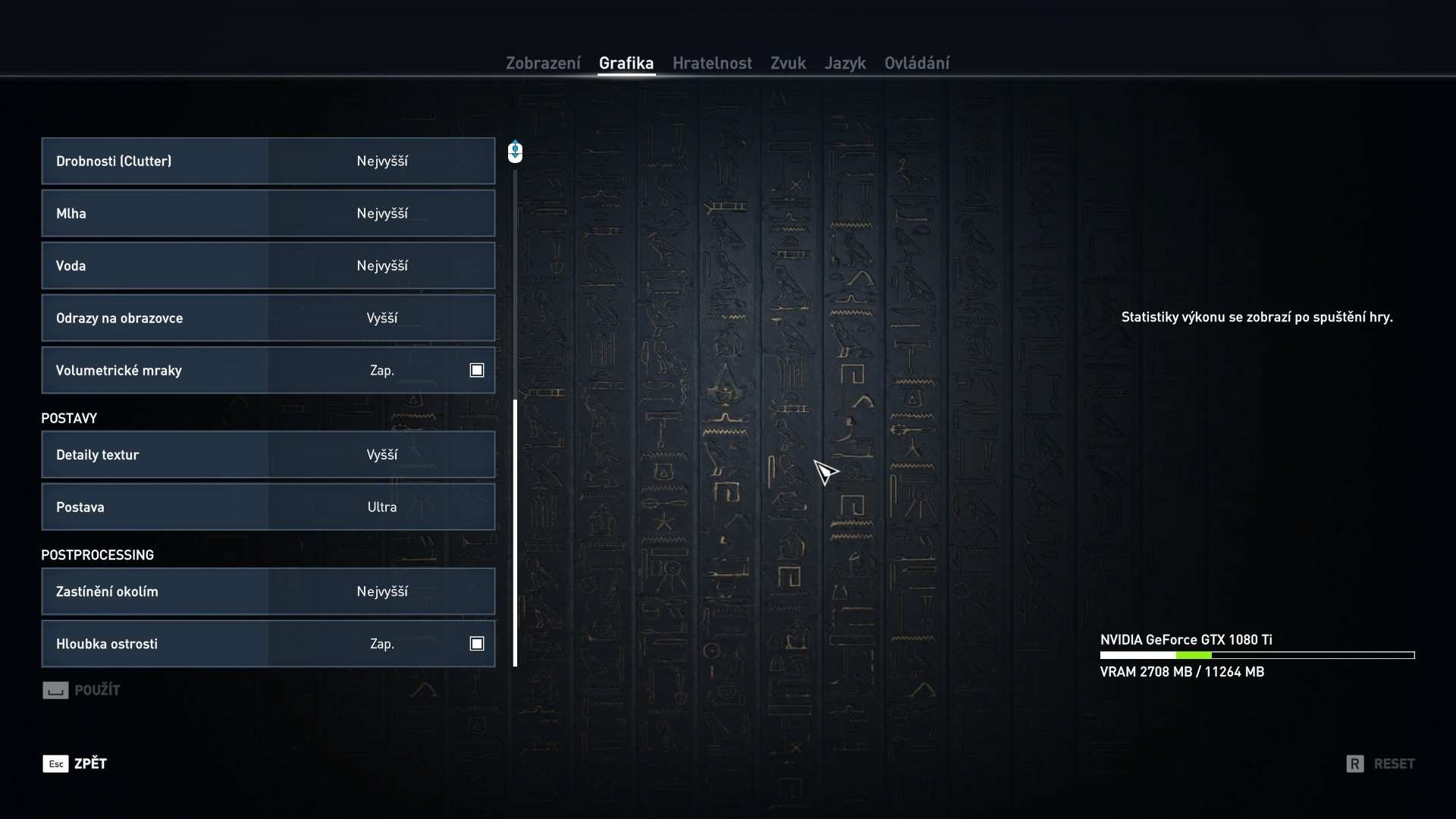 Assassin´s Creed: Origins nastavenie videa