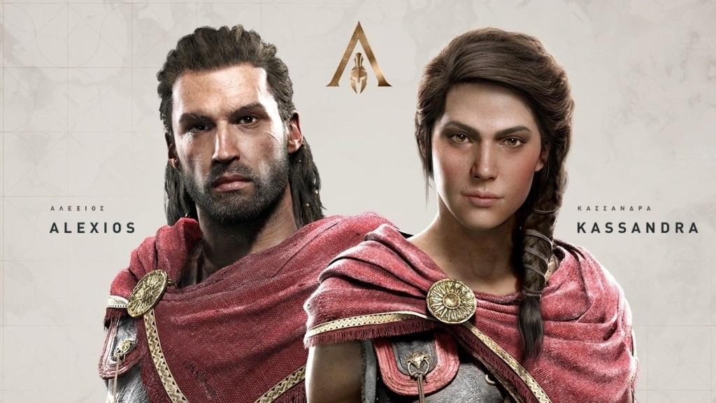 0982e66a306b Assassin s Creed Odyssey  screenshot  hlavné postavy