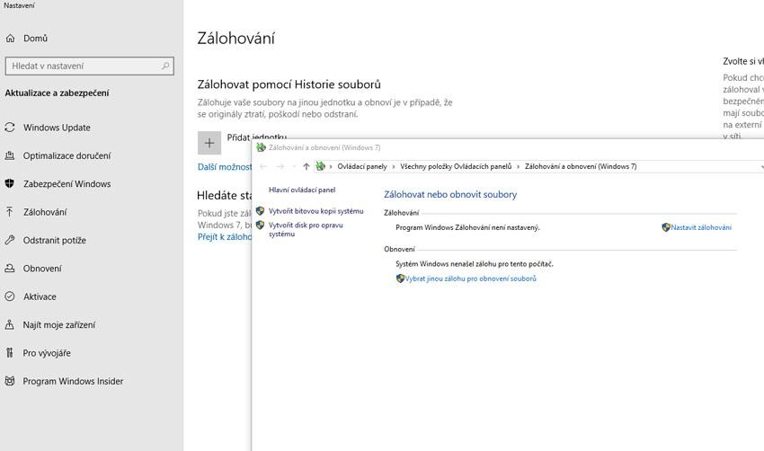 Bitová kópia; Windows 10
