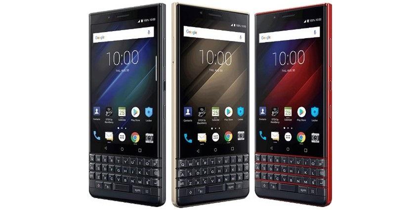 BlackBerry KEY2 LE, farby