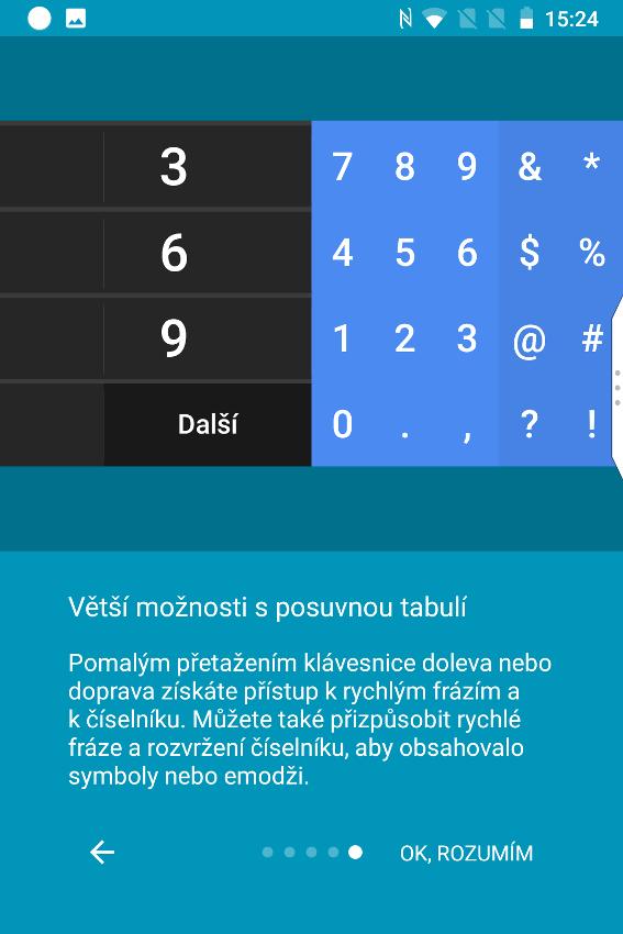 BlackBerry Key2 LE, recenzia, klávesnice