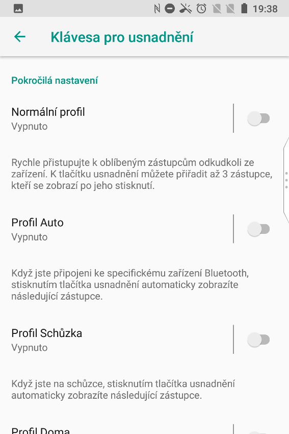BlackBerry Key2 LE, recenzia, screenshot
