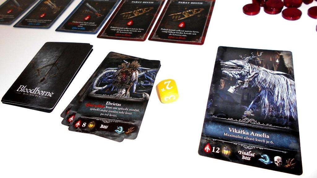 Doskové hry podľa počítačových predlôh; screenshot: Bloodborne