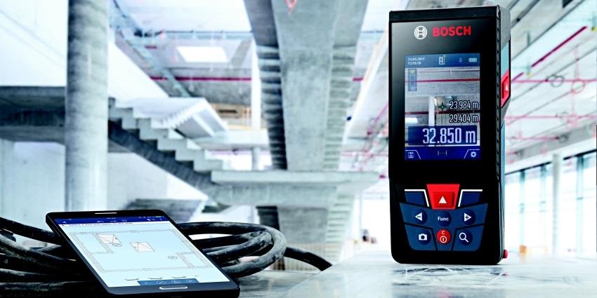 Laserové meranie s prístrojmi od Bosch