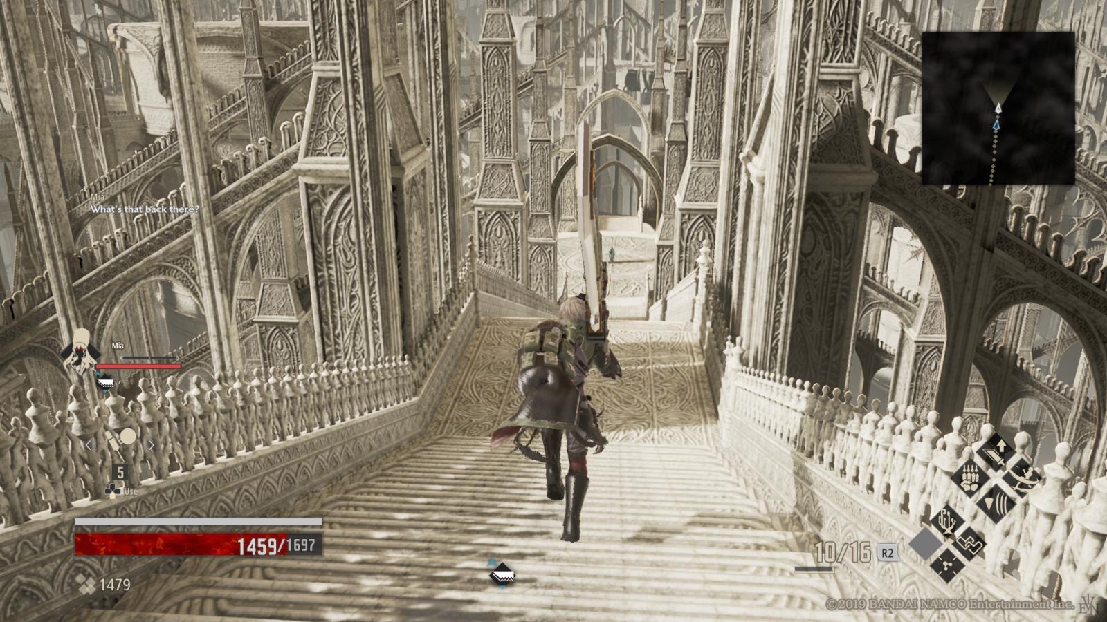 Code Vein; gameplay: Anor Londo