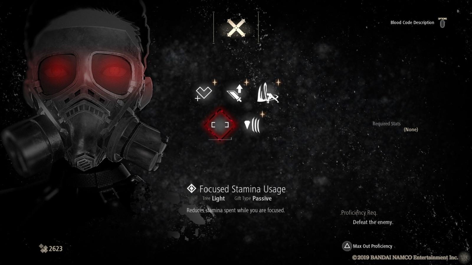 Code Vein; gameplay: gifts