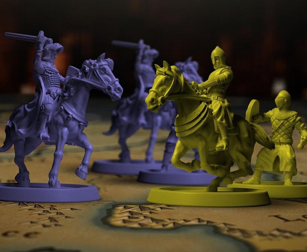Doskové hry podľa počítačových predlôh; screenshot: Crusader Kings