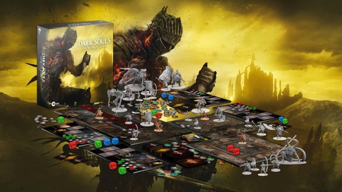 Doskové hry podľa počítačových predlôh; screenshot: Dark Souls