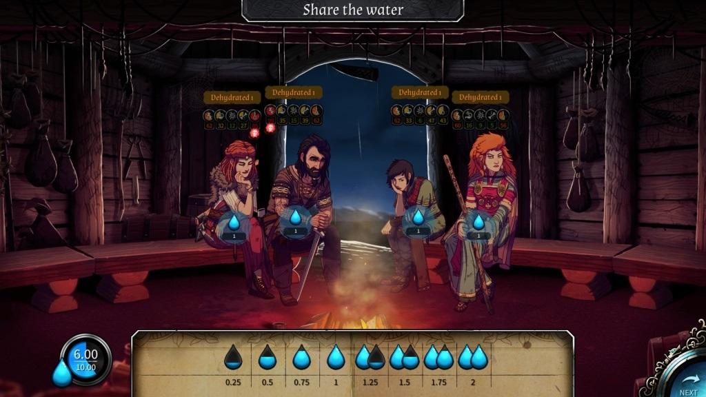 4475603929bf6 ... Najzaujímavejšie nezávislé hry; Dead In Vinland; gameplay: večer