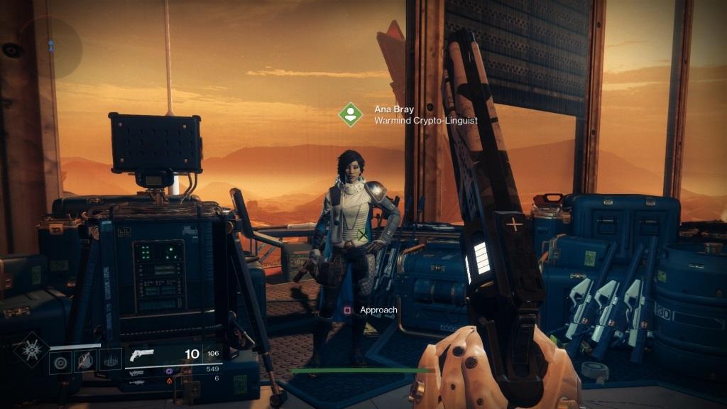 Destiny 2: Warmind; Gameplay: Ana Bray