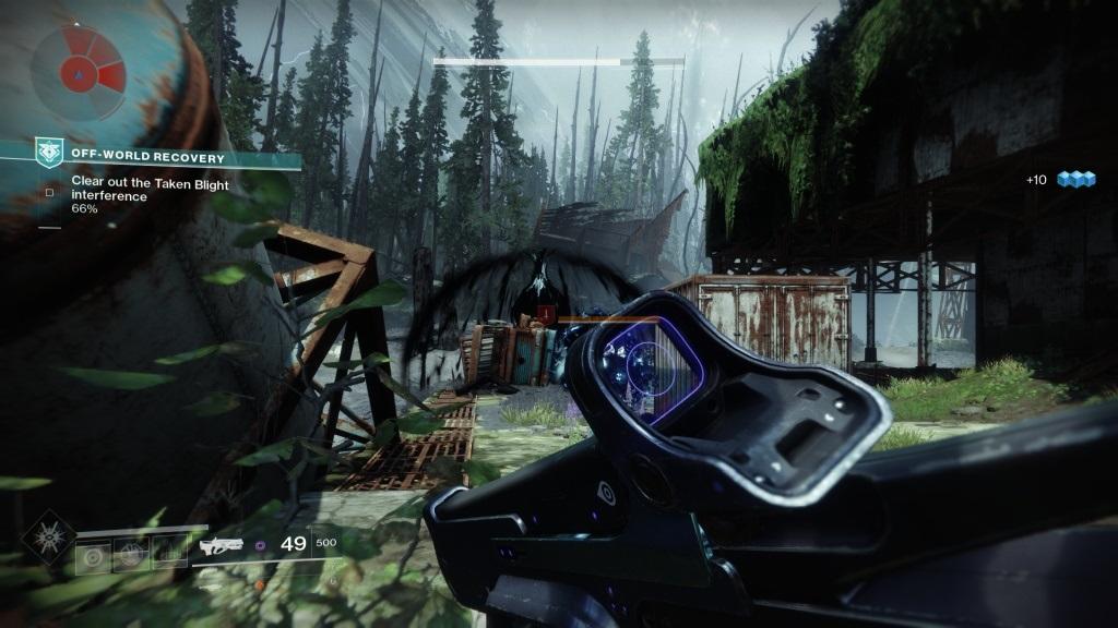 Destiny 2: Warmind; Gameplay: EDZ