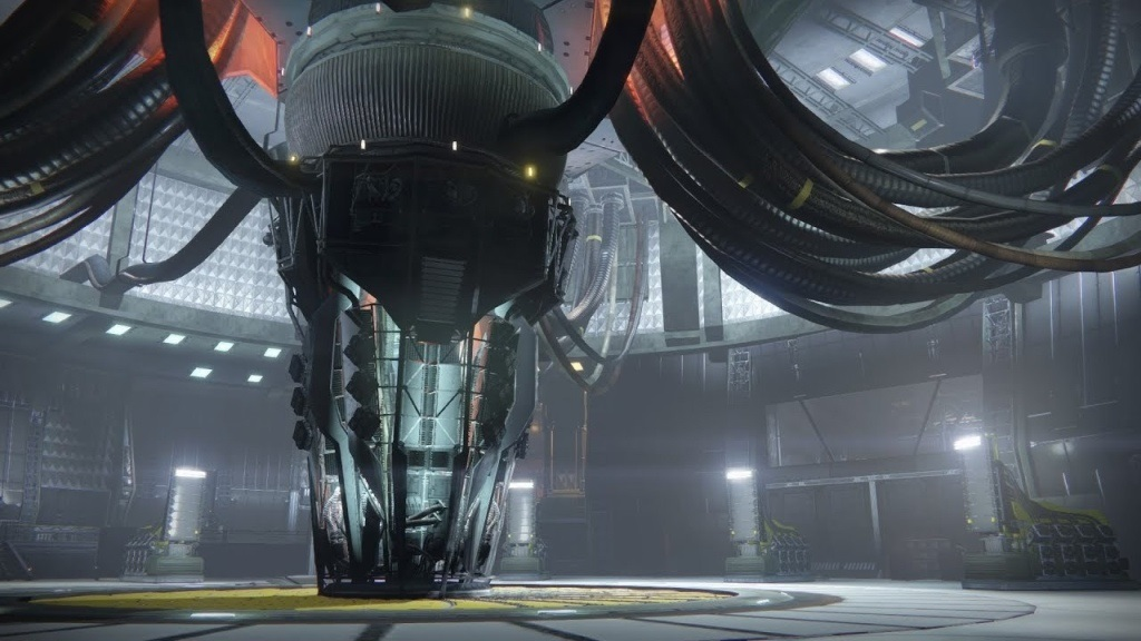 Destiny 2: Warmind; Wallpaper: obrí mechanizmus