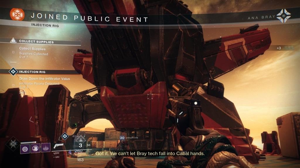 Destiny 2: Warmind; Gameplay: public event