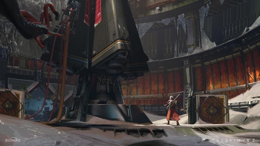 Destiny 2: Warmind; Wallpaper: stroj
