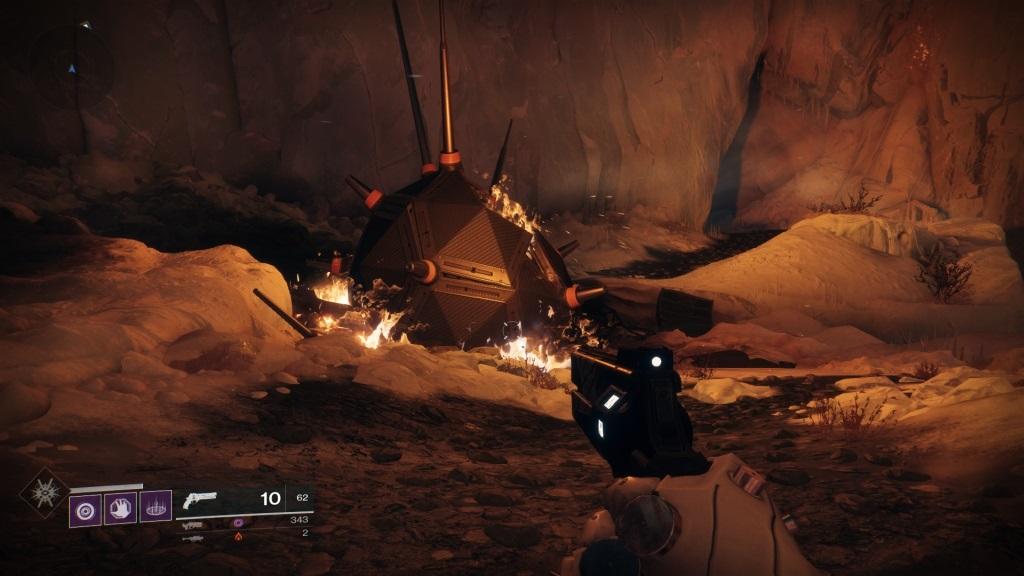 Destiny 2: Warmind; Gameplay: warsat
