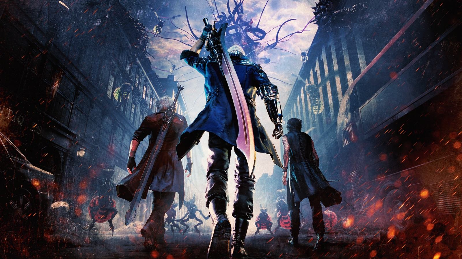 6278e382d854 Devil May Cry 5  wallpaper  cover